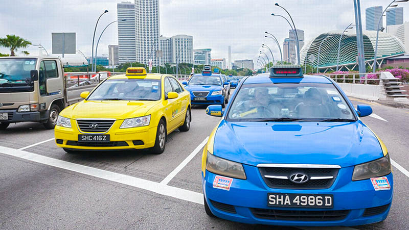 Getting Around Singapore with Taxi