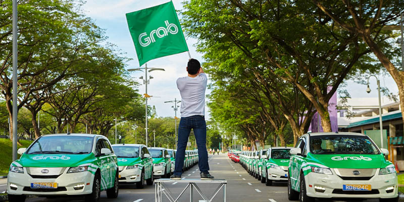 Getting Around Singapore with Ride Sharing - Grab