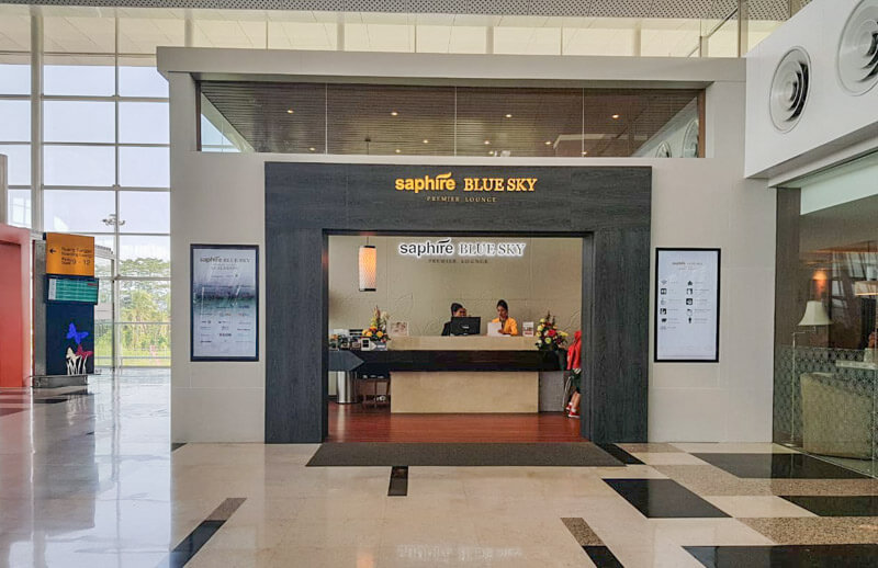 Kualanamu Medan Airport - Sapphire Blue Sky Lounge