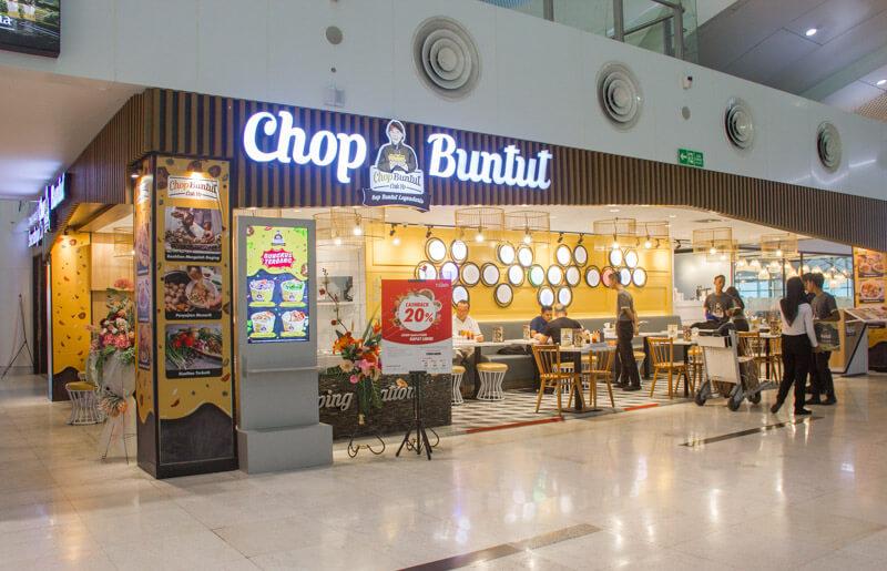 Kualanamu Medan Airport Food - Chop Buntut