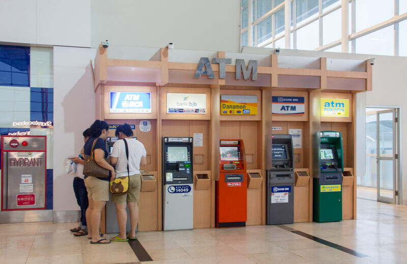 Kualanamu Medan Airport Facilities - ATM