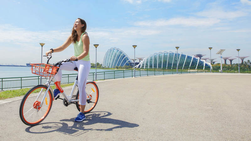 Getting Around Singapore with Bike Sharing - Mobike
