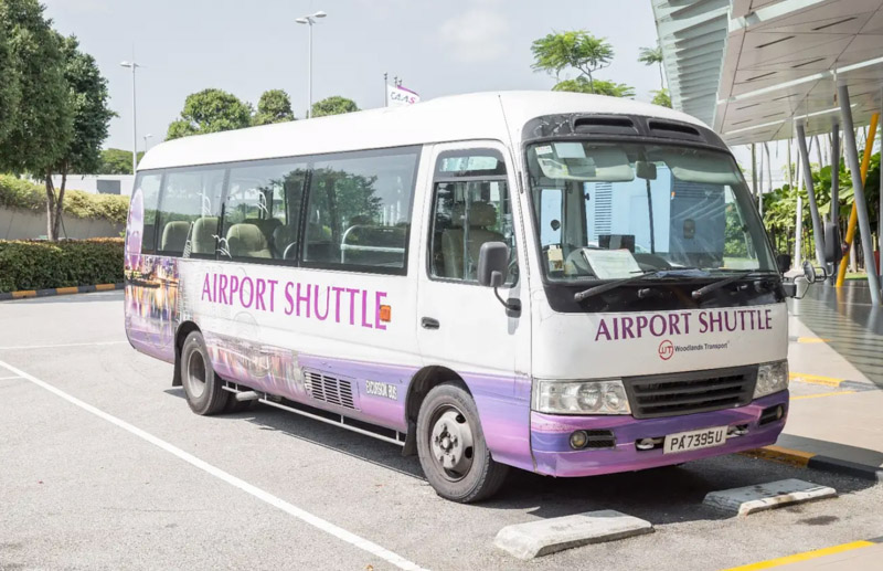 Changi Airport Shuttle to Downtown