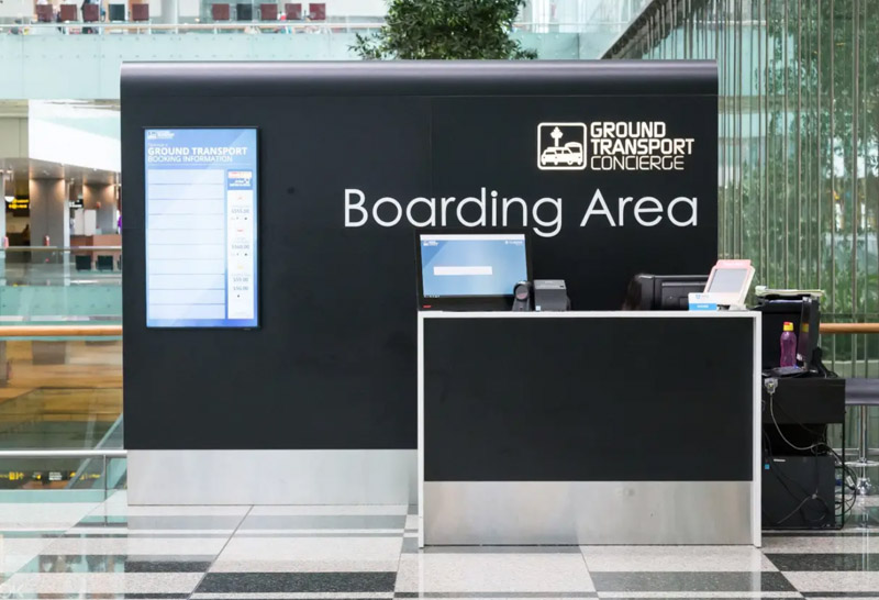Ground Transport Concierge at Changi Airport