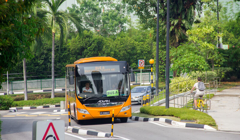 Free Shuttle Bus in Sentosa