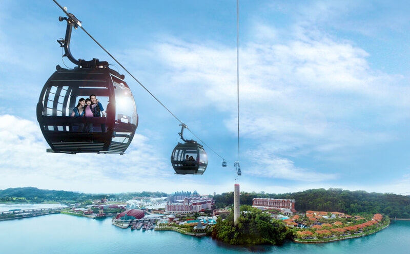 Singapore Mount Faber Line Cable Car