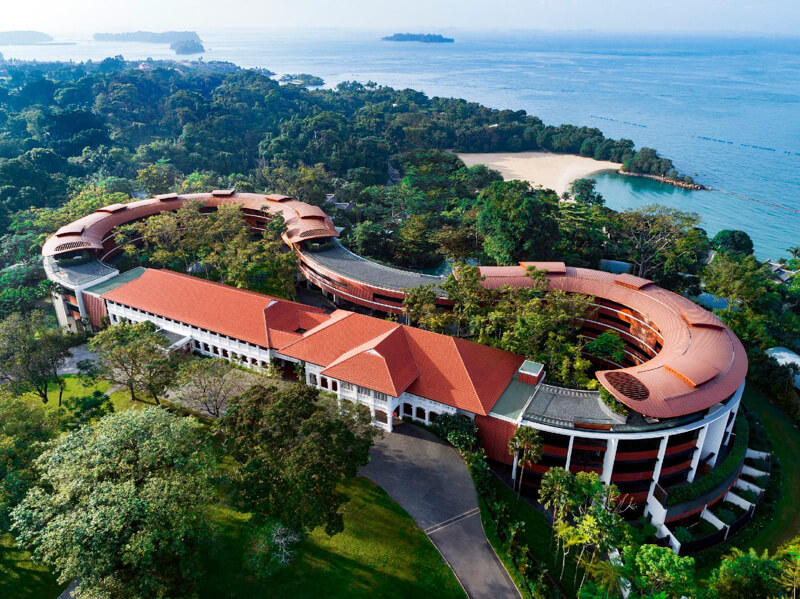 Staying in Sentosa - Capella Singapore Hotel