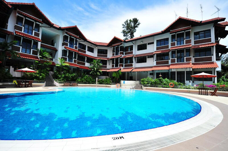 Staying in Sentosa - Costa Sands Resort