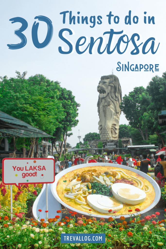 things to do in sentosa island Singapore