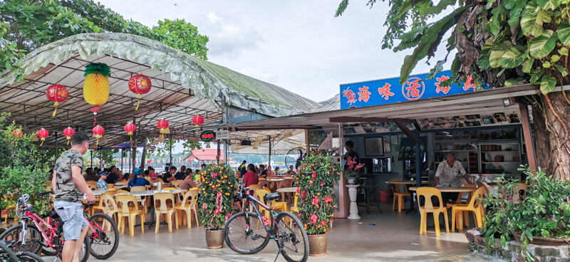 Food at Pulau Ubin - Season Live Seafood