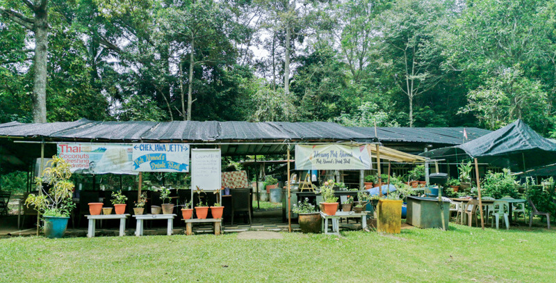 Food at Pulau Ubin - Pak Ahmad's Drink Stall