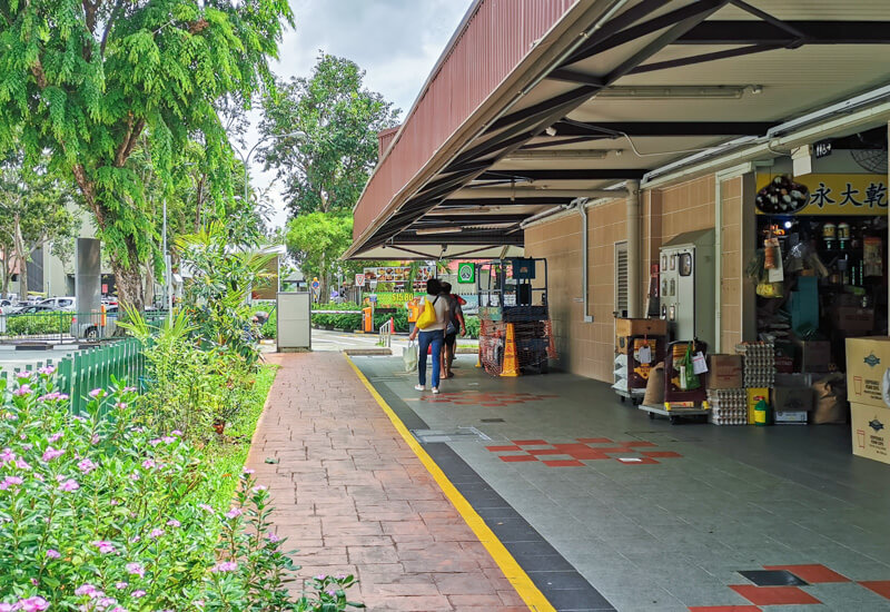 How to go to Pulau Ubin - 1. Turn left at Changi village market