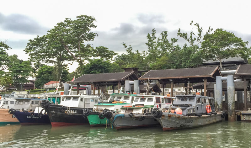 Pulau Ubin ferry