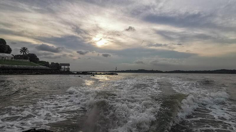 Pulau Ubin sunset