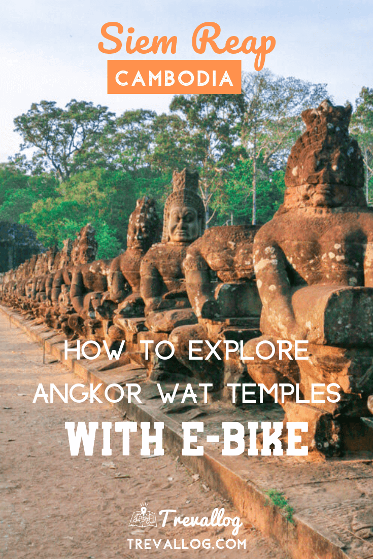 E Bike in Angkor Wat, Siem Reap