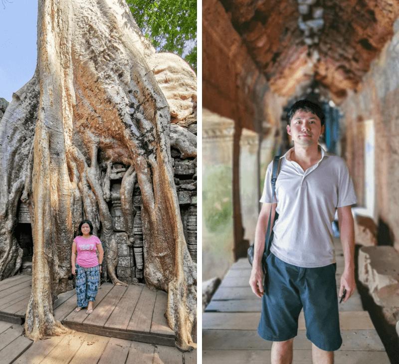 Ta Phrom Temple, Siem Reap