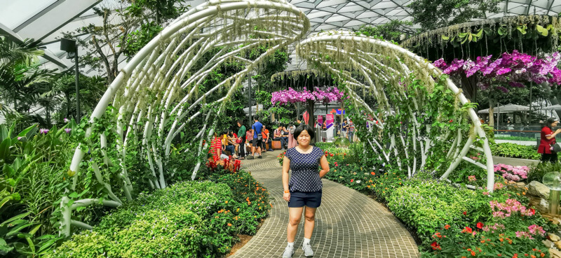 Day view - Jewel Canopy Park at Changi Airport Singapore