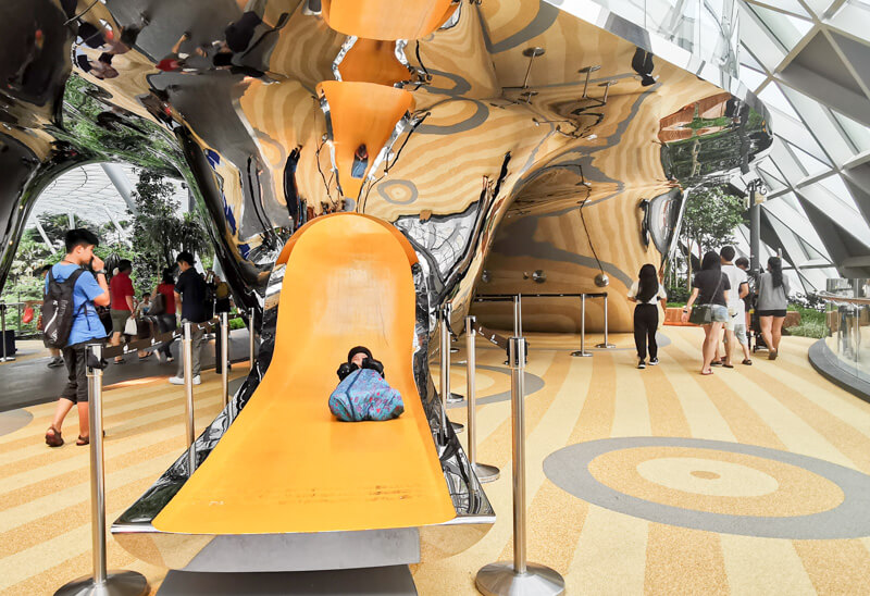 Discovery Slides - Jewel Canopy Park at Changi Airport Singapore