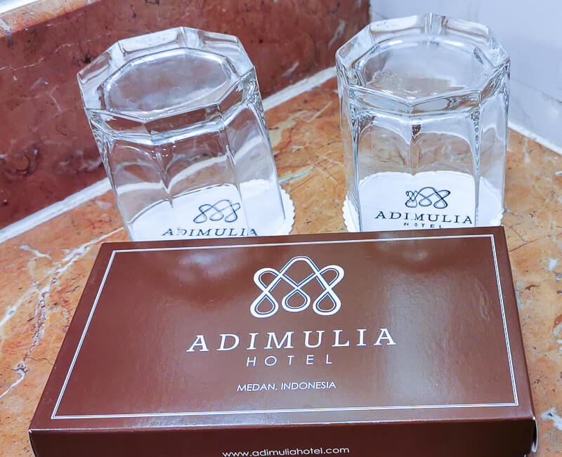 Adimulia Hotel Medan Review - Bathroom