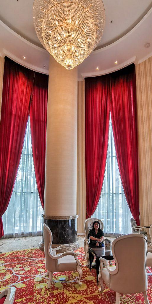 Adimulia Hotel Medan Review - Lobby