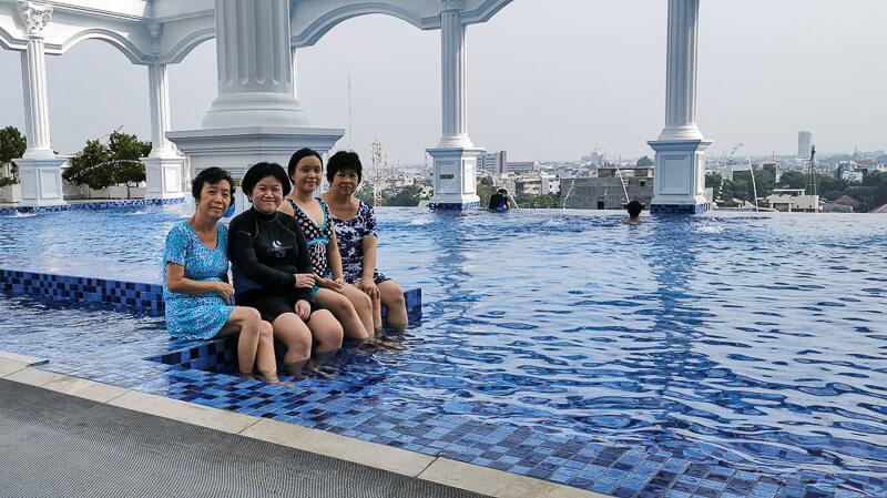 Adimulia Hotel Medan Review - Swimming Pool