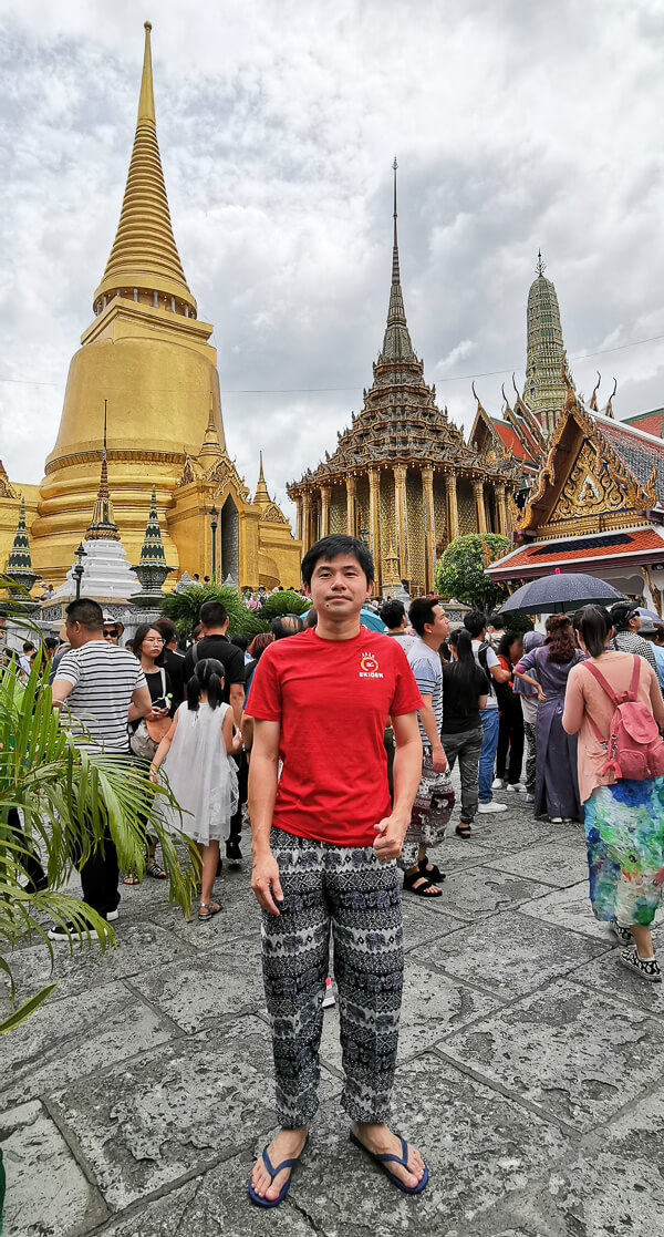 Bangkok Grand Palace Dress code