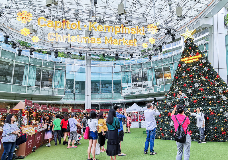Christmas in Singapore - Capitol Kempinski Hotel, Capitol Piazza