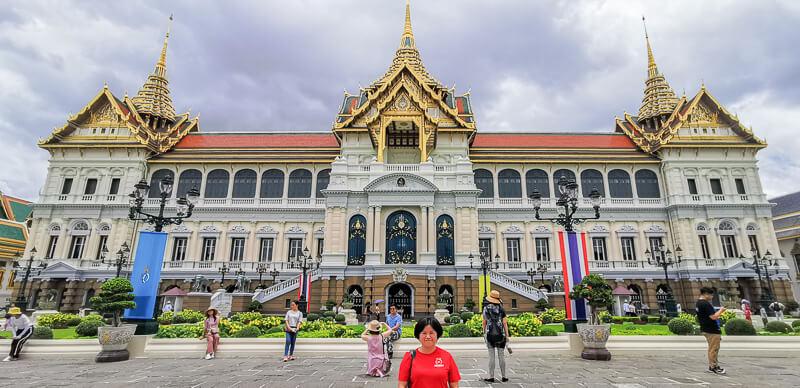 Bangkok Grand Palace Chakri Maha Prasat Hall