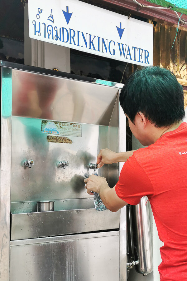 Bangkok Grand Palace water dispenser