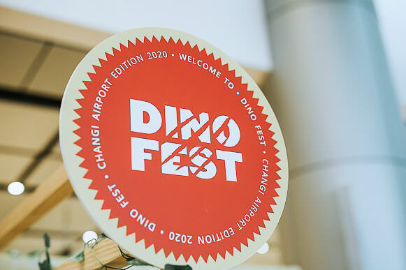 Christmas in Singapore 2020 - Changi Airport - Dino fest