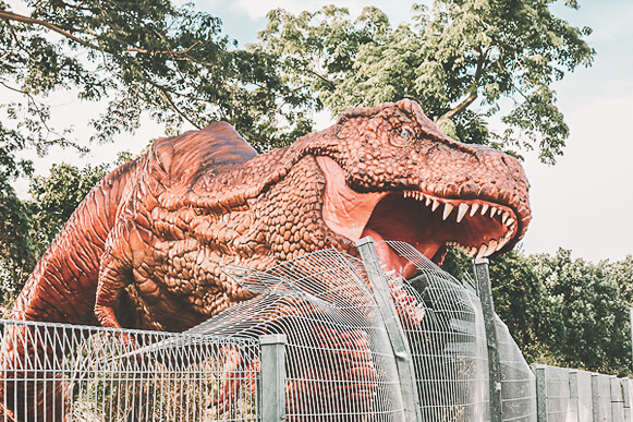 Christmas in Singapore 2020 - Changi Airport - Jurassic Mile