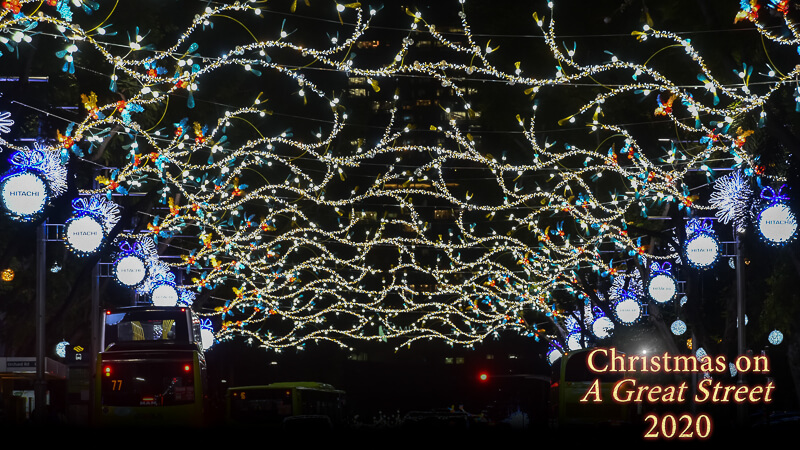Christmas in Singapore 2020 - Orchard Road (2)