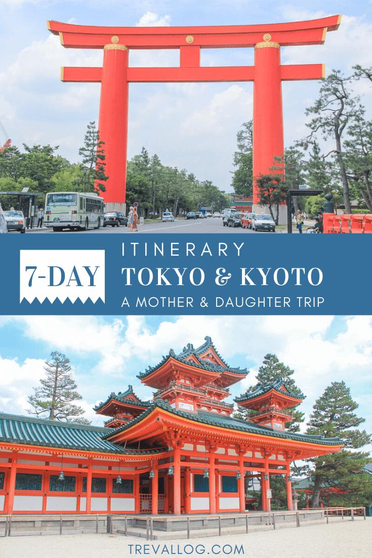 7 days Tokyo Kyoto Itinerary