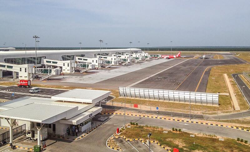 KLIA2 runway