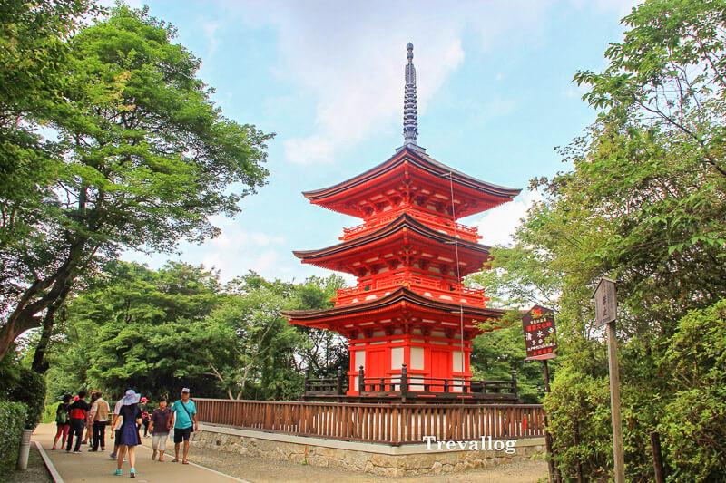 Pagoda at Kiyomizudera
