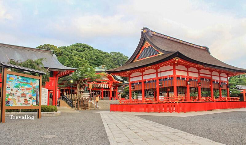 Entrance area of Fushimi Inari Shrine