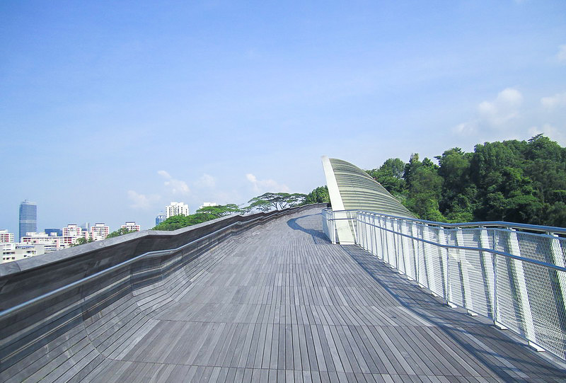 Running at Henderson Wave - Southern Ridges Singapore