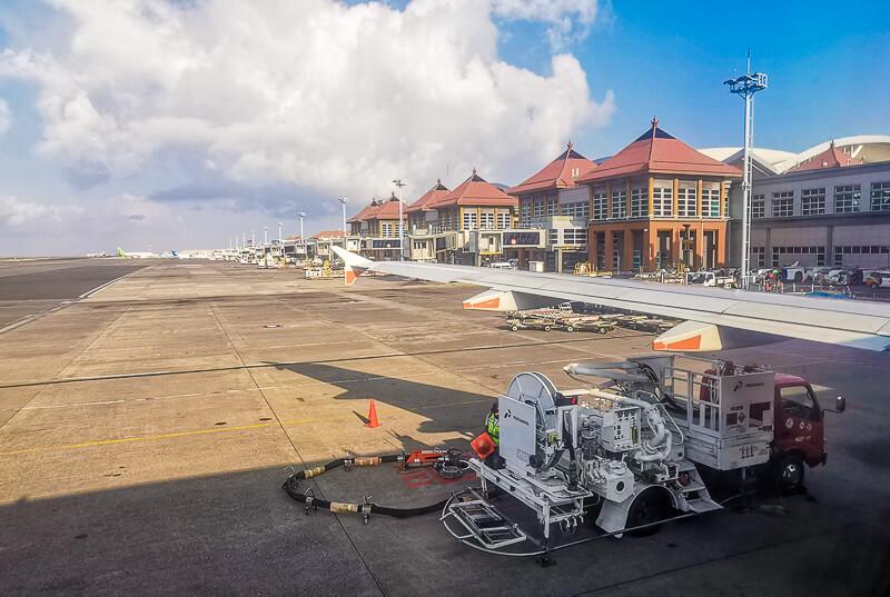Bali Airport runway