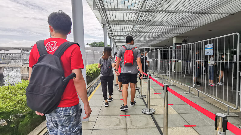 Kusu Island Annual Pilgrimage 2020 - Going Back to Marina South Pier