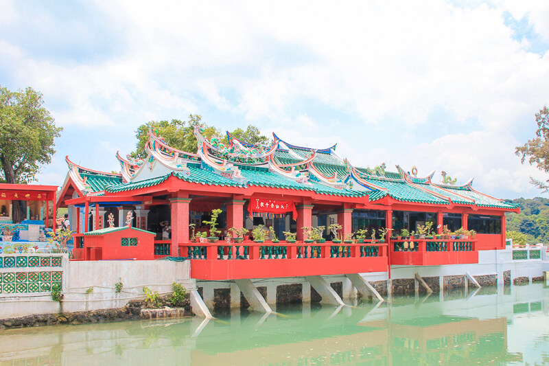 Kusu Island Singapore - things to do - chinese temple