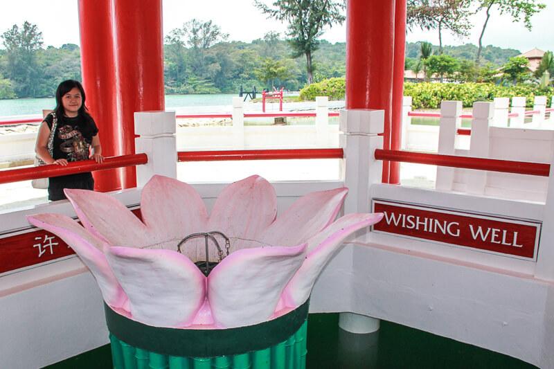 Kusu Island Singapore - things to do - wishing well