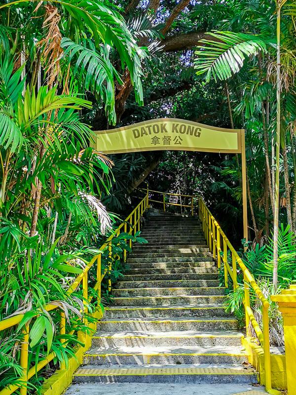 Kusu Island Singapore - things to do - kusu kramat datok kong
