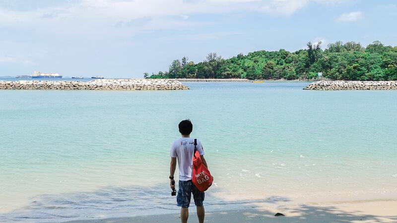Kusu Island Singapore - things to do - swimming lagoon
