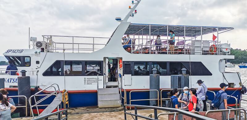 Marina South Ferries - Public Ferry