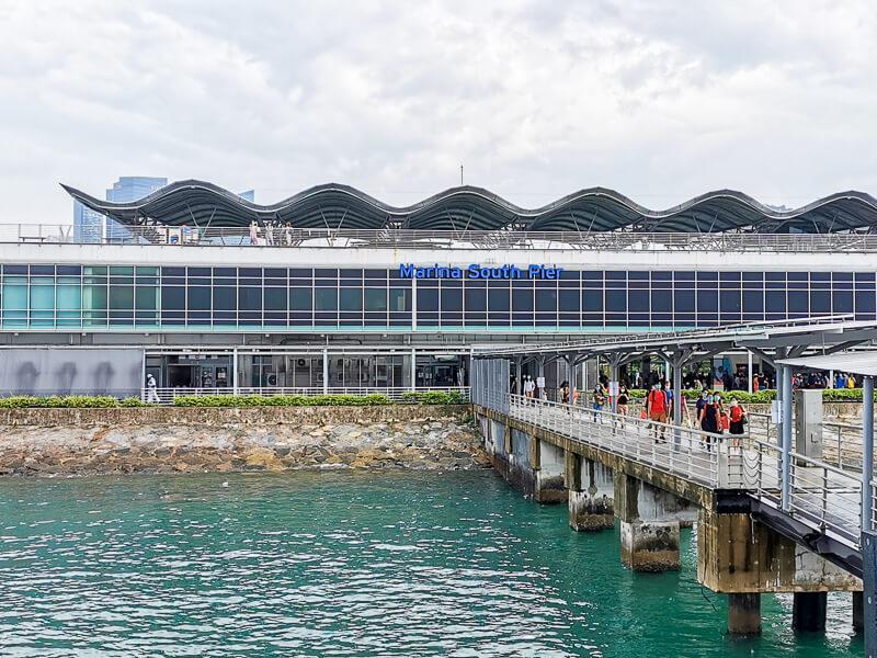 Marina South Pier Singapore