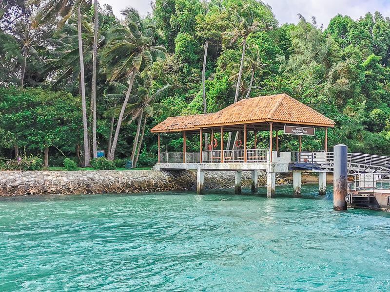 Sisters' Island Singapore - Pulau subar Laut pier