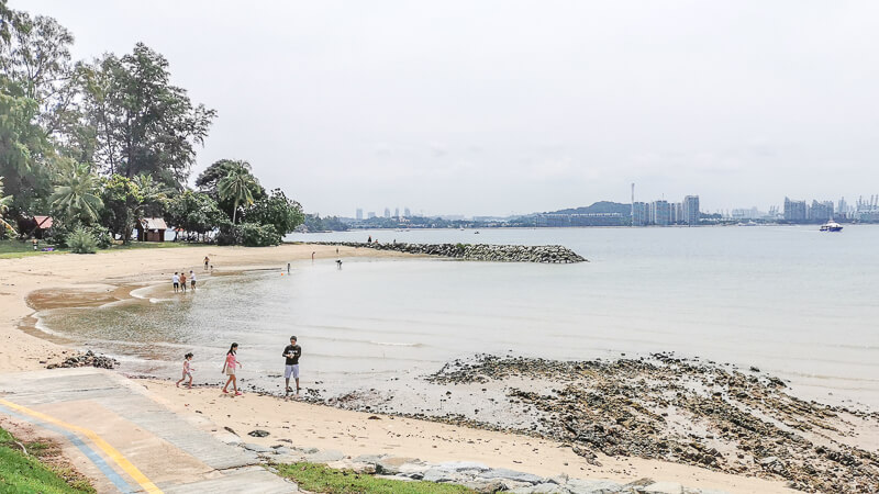 St John Island Singapore - things to do - swimming lagoon