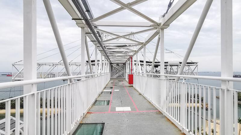 AJ Hackett Skybridge Sentosa Singapore - the skybridge