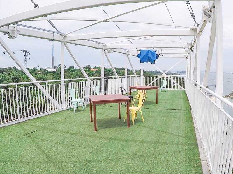 AJ Hackett Skybridge Sentosa Singapore - Sunset Deck