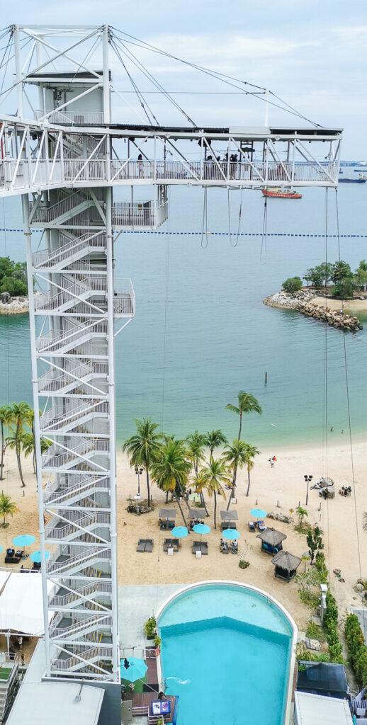 AJ Hackett Skybridge Sentosa Singapore - Bungy Jump